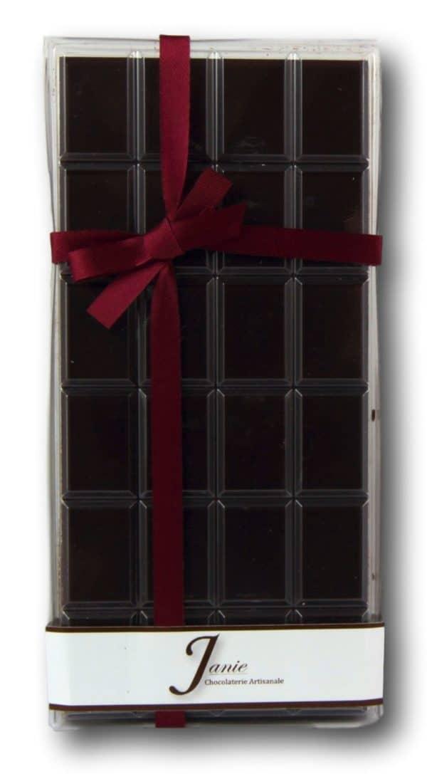 Tablette Pur Ghana Noir 68% Janie Chocolaterie Artisanale