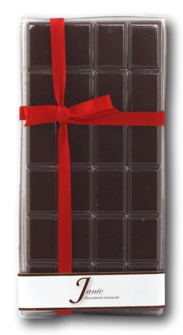 Tablette Pur Madagascar Lait 50% Janie Chocolaterie Artisanale