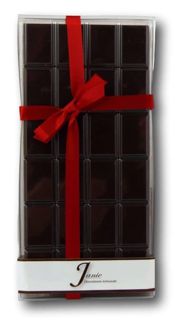 Tablette Pur Madagascar Noir 65% Janie Chocolaterie Artisanale