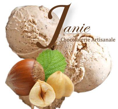 Boule De Glace Noisette Janie Chocolaterie Artisanale