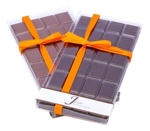 Janie Chocolaterie Artisanale Tablette Sans Sucre