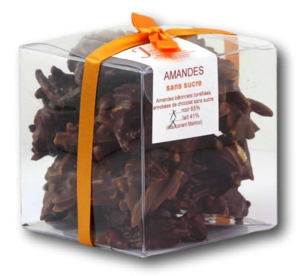Sans Sucre Amandes Janie Chocolaterie Artisanale