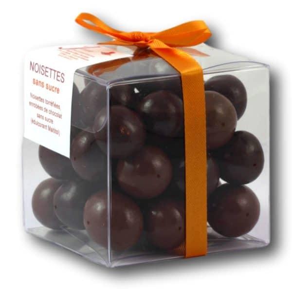Sans Sucre Noisettes Piémont Igp Janie Chocolaterie Artisanale