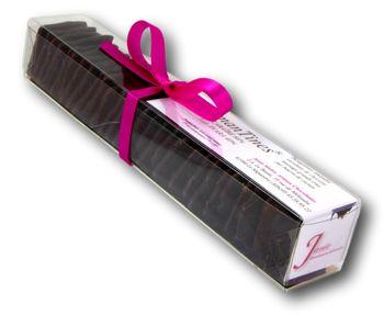 Amantines Noir Réglette Janie Chocolaterie Artisanale