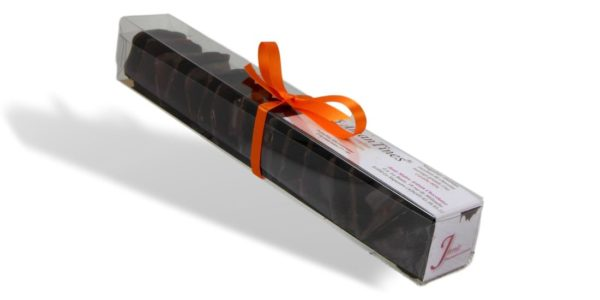 Amantines(r)orange Réglette Janie Chocolaterie Artisanale