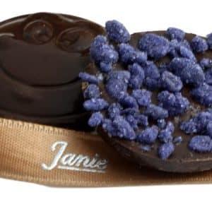 Chochocobinette(r) Violette Janie Chocolaterie Artisanaleg
