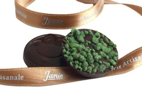 Chocobinette Menthe Janie Chocolaterie Artisanale