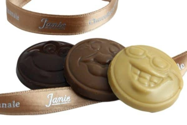 Chocobinette(r) Trio Nature Janie Chocolaterie Artisanale