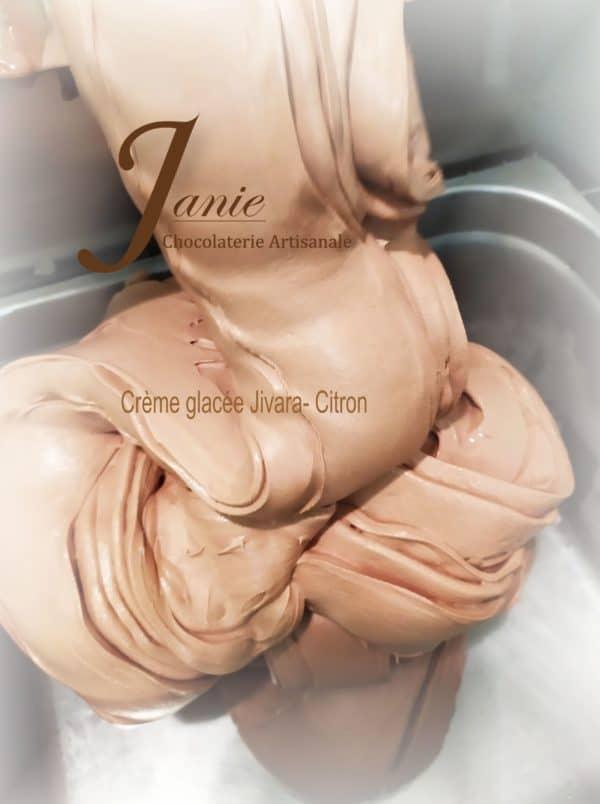 Creme Glacee Jivara Citron Janie Chocolaterie Artisanale