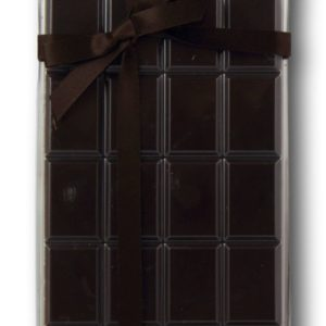 Tablette Pur Saint Domingue Noir Intense 90% Janie Chocolaterie Artisanale