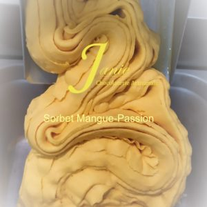 Sorbet Mangue Passion Janie Chocolaterie Artisanale